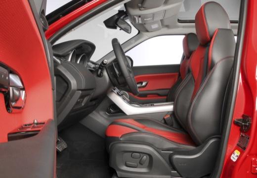 LAND ROVER Range Rover Evoque II kombi wnętrze