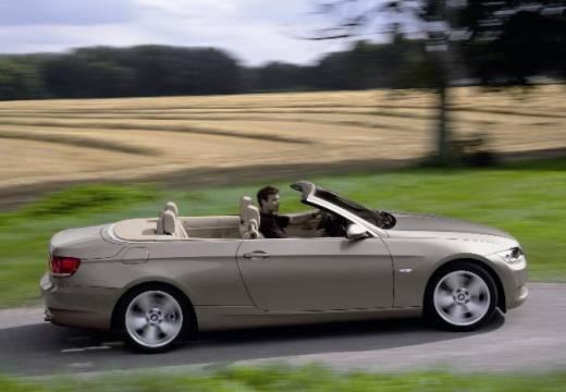BMW Seria 3 kabriolet silver grey boczny prawy