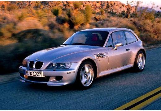 BMW Z3 coupe silver grey przedni lewy