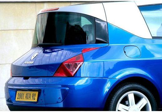 RENAULT Avantime hatchback niebieski jasny szczegółowe opcje