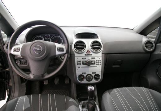 OPEL Corsa D I hatchback czarny tablica rozdzielcza