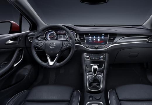 OPEL Astra V I hatchback tablica rozdzielcza