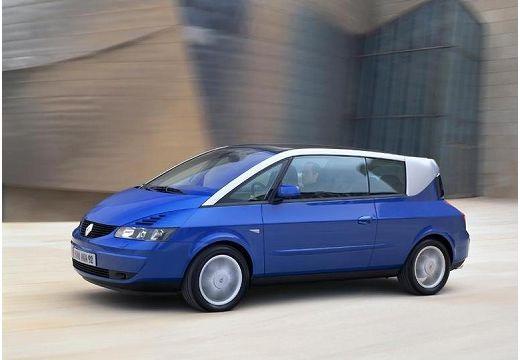 RENAULT Avantime hatchback niebieski jasny przedni lewy