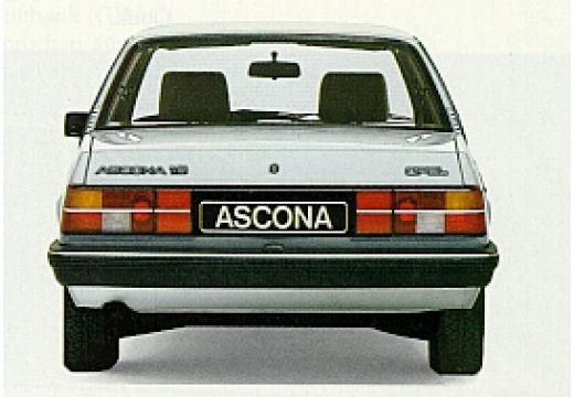 OPEL Ascona sedan silver grey tylny