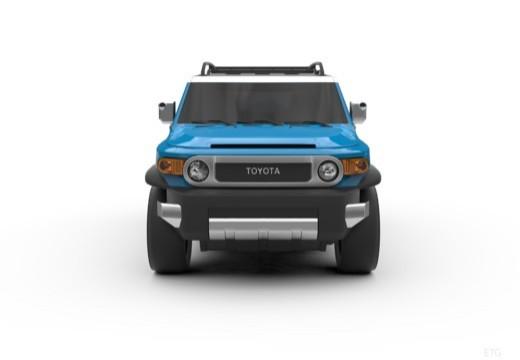 Toyota FJ Cruiser kombi przedni