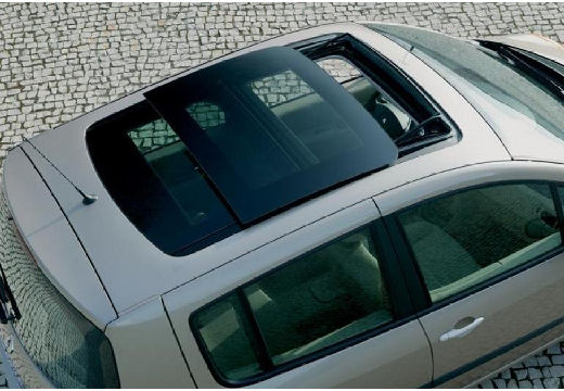 RENAULT Modus II hatchback silver grey inne