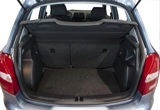 SKODA Fabia II II hatchback przestrzeń załadunkowa