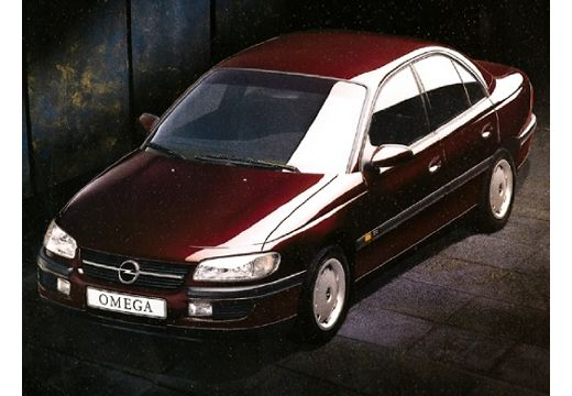 OPEL Omega B I sedan bordeaux (czerwony ciemny) przedni lewy