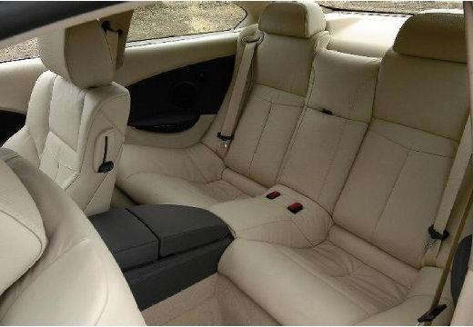 BMW Seria 6 E63 I coupe wnętrze