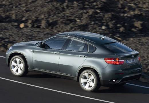 BMW X6 X 6 E71 hatchback szary ciemny tylny lewy