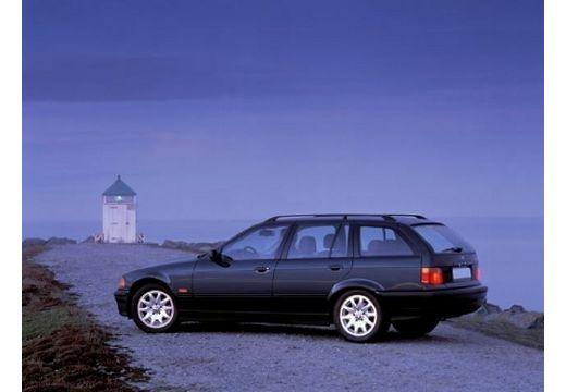 BMW Seria 3 Touring E36 kombi czarny tylny lewy