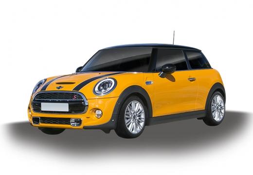 MINI [BMW] Mini MINI One V hatchback żółty