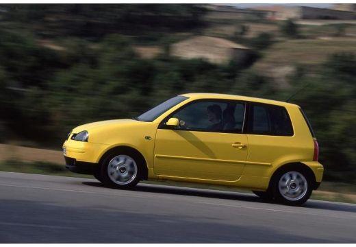 SEAT Arosa II hatchback żółty boczny lewy