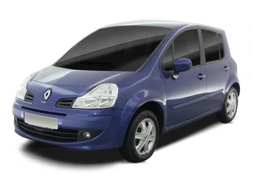 RENAULT Modus II hatchback niebieski jasny