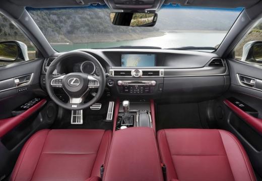 LEXUS GS V sedan tablica rozdzielcza
