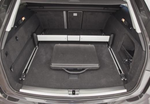 AUDI A6 Allroad IV kombi szary ciemny przestrzeń załadunkowa