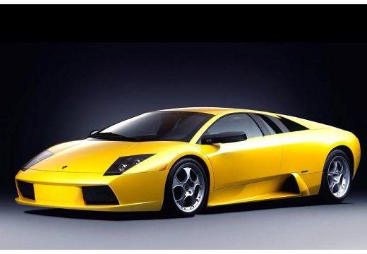 LAMBORGHINI Murcielago I coupe żółty przedni lewy