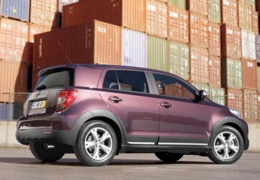 Toyota Urban Cruiser hatchback fioletowy tylny prawy