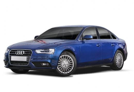 AUDI A4 B8 II sedan niebieski jasny