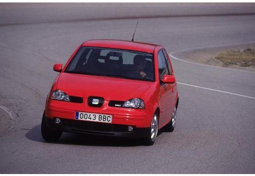 SEAT Arosa II hatchback czerwony jasny przedni lewy