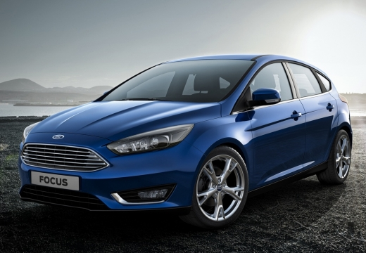 FORD Focus VI hatchback niebieski jasny przedni lewy