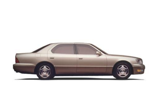 LEXUS LS 400 II sedan brązowy boczny prawy