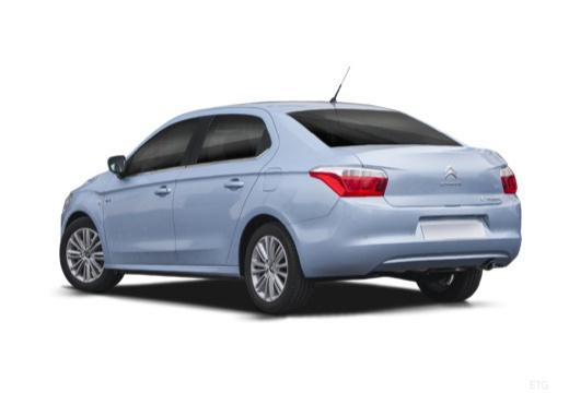 CITROEN C-Elysee sedan niebieski jasny tylny lewy