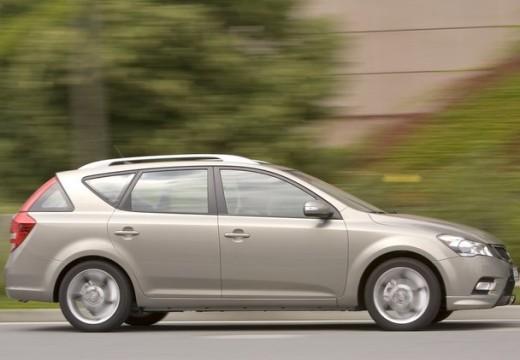 KIA Ceed Sporty Wagon II kombi silver grey boczny prawy