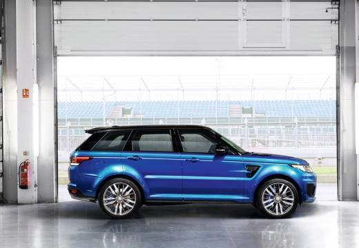 LAND ROVER Range Rover Sport IV kombi niebieski jasny boczny prawy