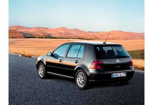 VOLKSWAGEN Golf IV hatchback czarny tylny lewy