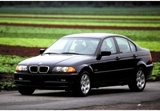 BMW Seria 3 E46 sedan czarny przedni lewy