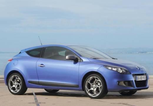 RENAULT Megane III Coupe I hatchback niebieski jasny przedni prawy