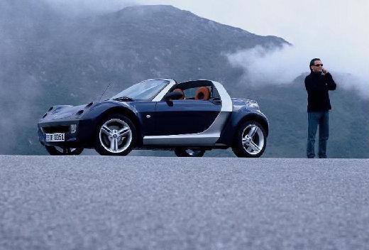 SMART roadster czarny przedni lewy