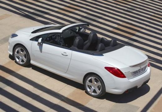 PEUGEOT 308 kabriolet biały tylny lewy