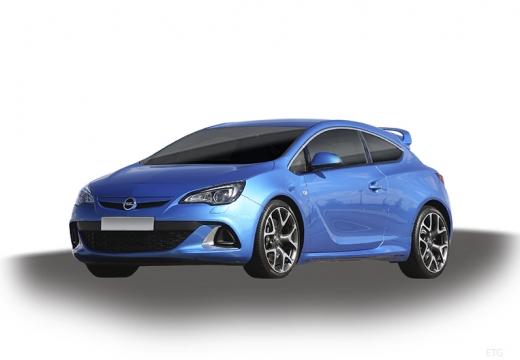 OPEL Astra IV GTC I hatchback niebieski jasny