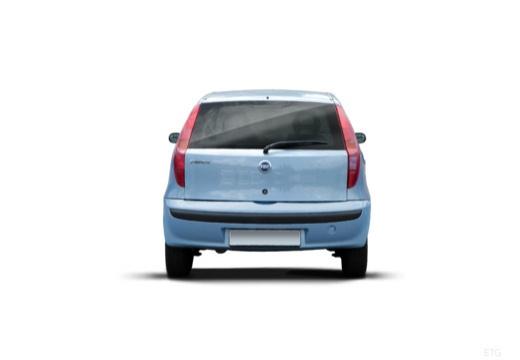 FIAT Punto II II hatchback niebieski jasny tylny