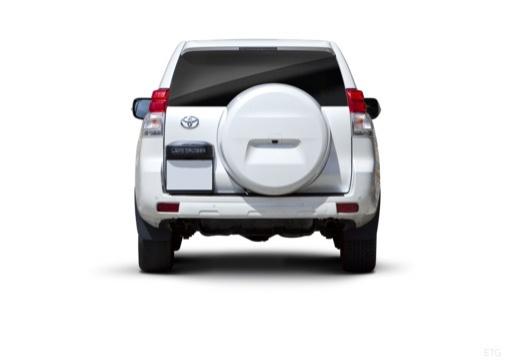 Toyota Land Cruiser 150 I kombi biały tylny