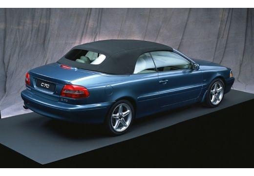 VOLVO C70 Cabrio I kabriolet niebieski jasny tylny prawy