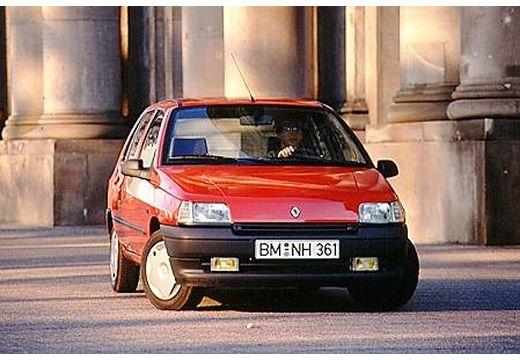 RENAULT Clio I hatchback czerwony jasny przedni prawy