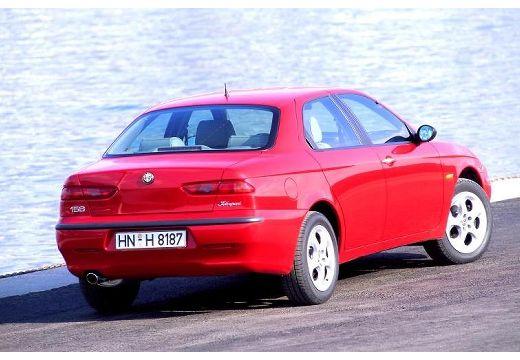 ALFA ROMEO 156 I sedan czerwony jasny tylny prawy