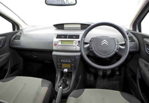 CITROEN C4 II hatchback silver grey tablica rozdzielcza
