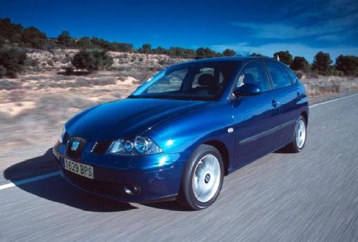 SEAT Ibiza IV hatchback niebieski jasny przedni lewy