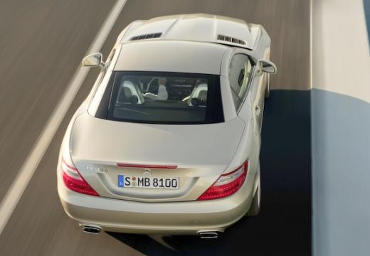 MERCEDES-BENZ Klasa SLK SLK R 172 roadster beige tylny prawy