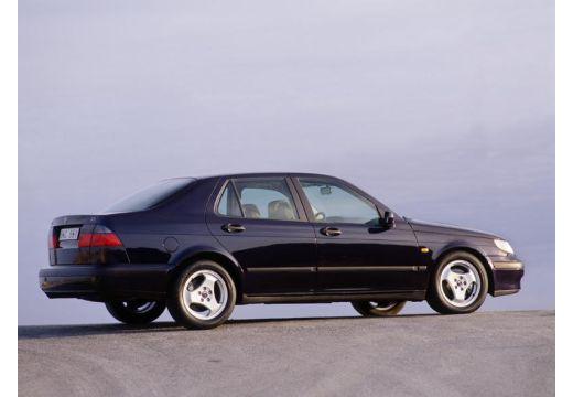 SAAB 9-5 sedan boczny prawy