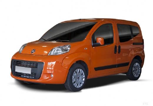 FIAT Fiorino Qubo kombi pomarańczowy