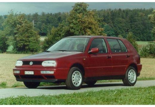 VOLKSWAGEN Golf III hatchback bordeaux (czerwony ciemny) przedni lewy