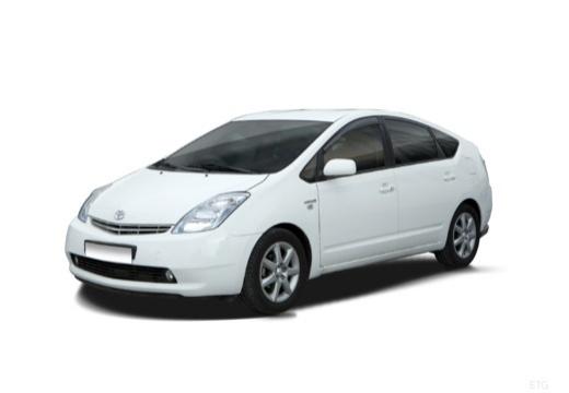 Toyota Prius I hatchback biały przedni lewy
