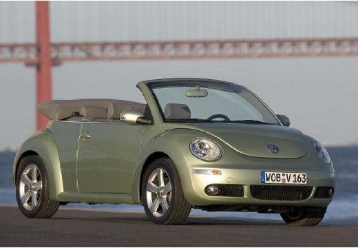 VOLKSWAGEN New Beetle Cabriolet II kabriolet zielony jasny przedni prawy