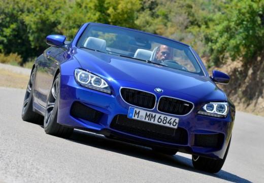 BMW Seria 6 Cabriolet F12 I kabriolet niebieski jasny przedni prawy