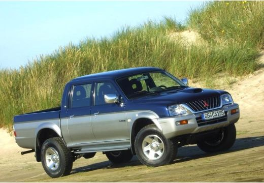 MITSUBISHI L 200 I pickup niebieski jasny przedni prawy